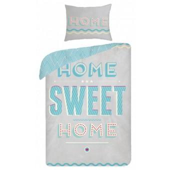 Home Sweet Home 2i1 Design sengetøj - 100 Procent Bomuld