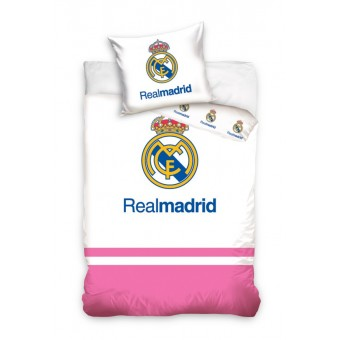 Real Madrid Junior Sengetøj 100x135 cm - 100 procent bomuld