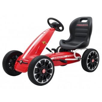 Abarth Pedal GoKart til børn 3-8 år, Rød