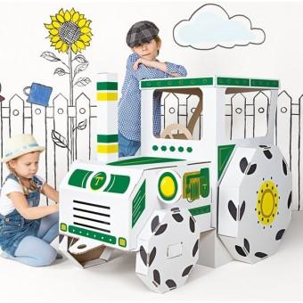 Stor Traktor i pap (Mal selv)