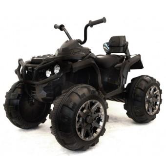 EL ATV Black til børn 12V med gummihjul