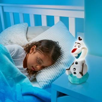 Disney Frost 2 Olof 2i1 Natlampe og lygte Figur