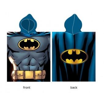 Batman Poncho / Håndklæde med hætte - 100 procent bomuld