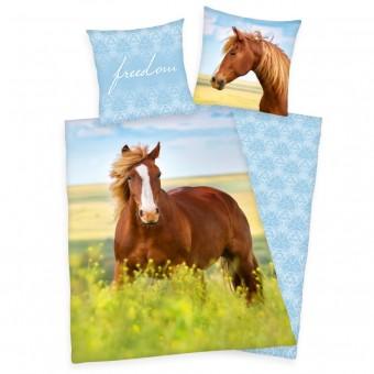 Heste Sengetøj (100 procent bomuld)