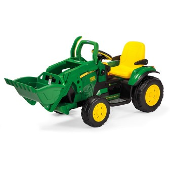 John Deere Ground Loader EL Traktor med frontskovl 12V
