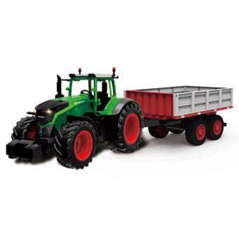 Fjernstyret Traktor med dumper trailer 1:16 2.4G