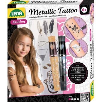 Lena tatoveringer 'Metallic' til børn