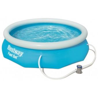 Bestway Fast Set Pool Sæt 305 x 76cm m/filter pumpe