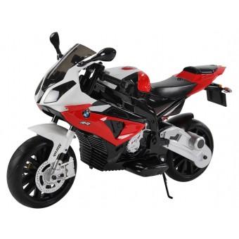 BMW S 1000 RR Motorcykel til Børn 12V med gummihjul
