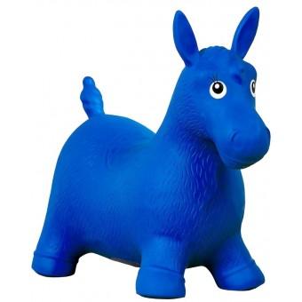 Hoppehest Blå