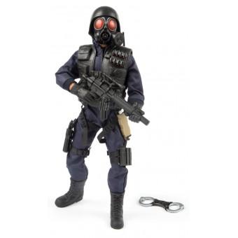 S.W.A.T. Pick-up Man Politi Action Figur 30,5cm