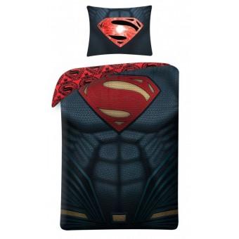 Superman 2i1 Sengetøj (100 procent bomuld!)