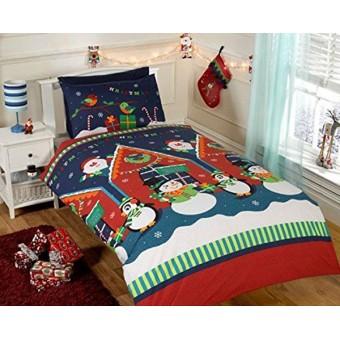 Jule Sengetøj - Julemandens Hule