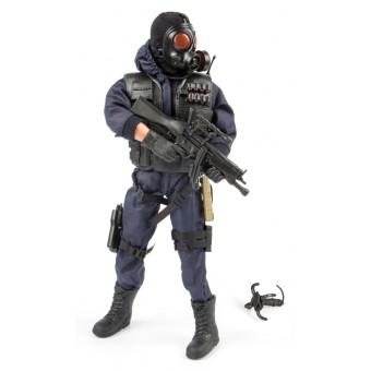 S.W.A.T. Rear Guard Politi Action Figur 30,5cm