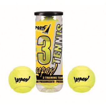 Tennis Bolde Leopard (3 stk.)