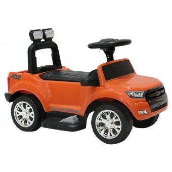 Ford Ranger 3-i-1 Elbil / Gåbil til børn, Orange