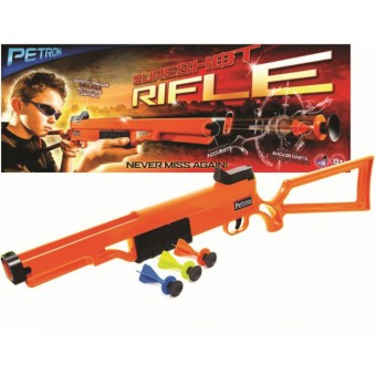 Sureshot Rifle til børn m/3 dartpile