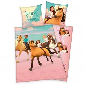 Heste Spirit Sengetøj (100 procent bomuld)