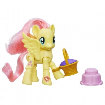 My Little Pony Equestria 'Poseable' Fluttershy Picnic
