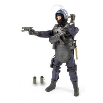 S.W.A.T. Leder / Point-Man Politi Action Figur 30,5cm