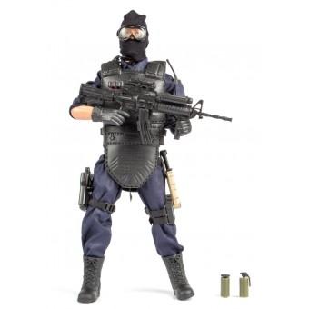 S.W.A.T. Cover Man Politi Action Figur 30,5cm