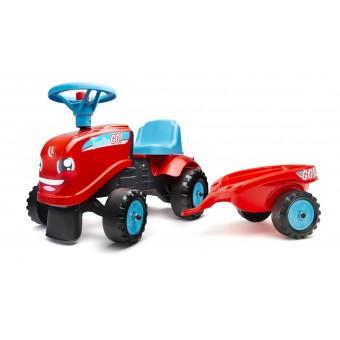 Falk Gå-Traktor + Trailer 2i1 designs 1-3 år
