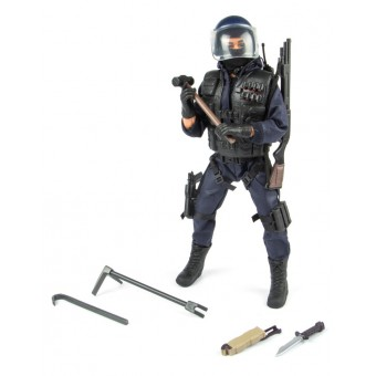 S.W.A.T. Breacher 'Gennembryder' Politi Action Figur 30,5cm