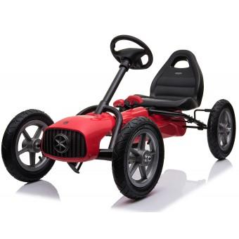 MegaLeg Pedal AIR Gokart 1903 til børn, Rød