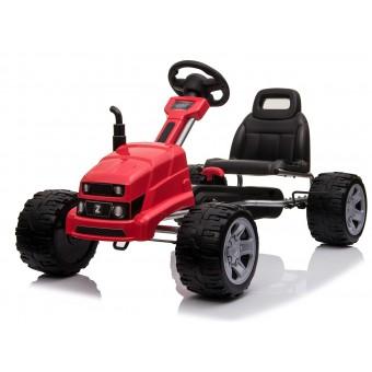 MegaLeg Pedal Gokart Red til børn