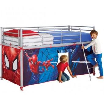 Spiderman Telt til Halvhøj Køjeseng (190-200cm)