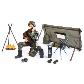 Artillerist Army Action Figur Delux Pakke 30,5cm