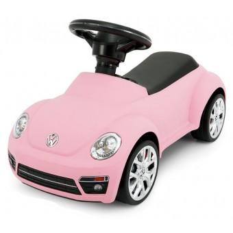 VW Beetle Gåbil m/lyd og lys, Pink