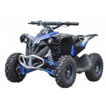 EL Mini ATV Renegade 1000W m/fart begrænser+lys Blå