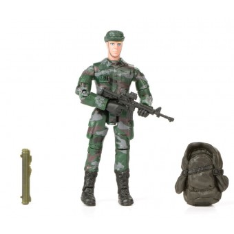 World Peacekeepers 1:18 Militær actionfigur Singepack 1A