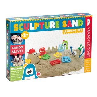 Sandskulpturer (Lære sæt med 1kg Kinetisk sand)
