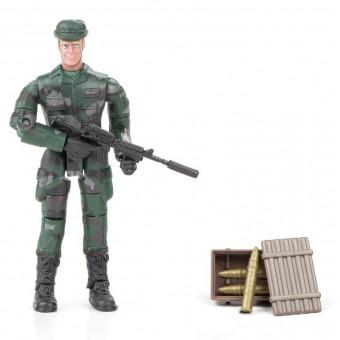World Peacekeepers 1:18 Militær actionfigur Singepack 1B