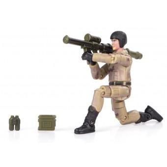 World Peacekeepers 1:18 Militær actionfigur Singepack 2F