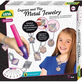 Lena Metal smykker - gør det selv til børn