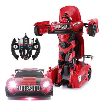 Mercedes-Benz AMG GT-3 Transform Robot Bil 2.4G 1:14