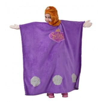 Disney Prinsesse Sofia Luksus Poncho med hætte