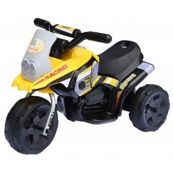 Racing Sport EL Motorcykel til børn 6V, Gul
