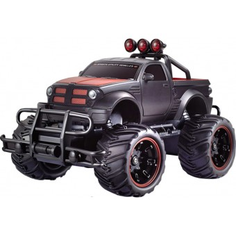 Fjernstyret Monster Truck Off-Road 1:20 Sort