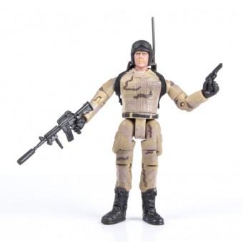 World Peacekeepers 1:18 Militær actionfigur Singepack 2D