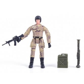 World Peacekeepers 1:18 Militær actionfigur Singepack 2B