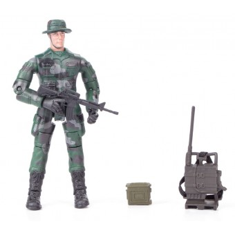 World Peacekeepers 1:18 Militær actionfigur Singepack 1D