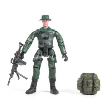 World Peacekeepers 1:18 Militær actionfigur Singepack 1F