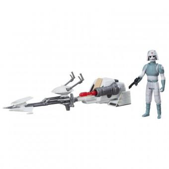 Star Wars AT-DP Imperial Speeder fartøj og figur