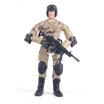 World Peacekeepers 1:18 Militær actionfigur Singepack 2A