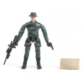World Peacekeepers 1:18 Militær actionfigur Singepack 1C