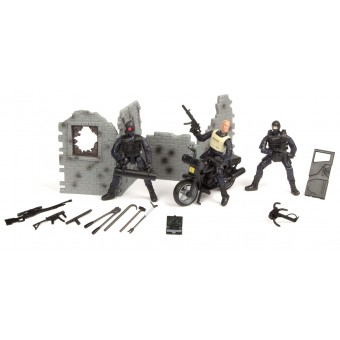 S.W.A.T. Action Figur 3-bigpack Type C 1:18